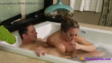 Meaty Milf Sucks and Fucks in Spa